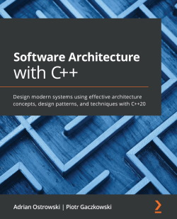 In April, we got a new book - from two Polish authors - Piotr and Adrian - on C++ Software Architecture. This one is fascinating and refreshing. While